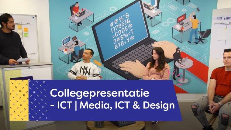 YouTube video - Collegepresentatie ICT opleidingen