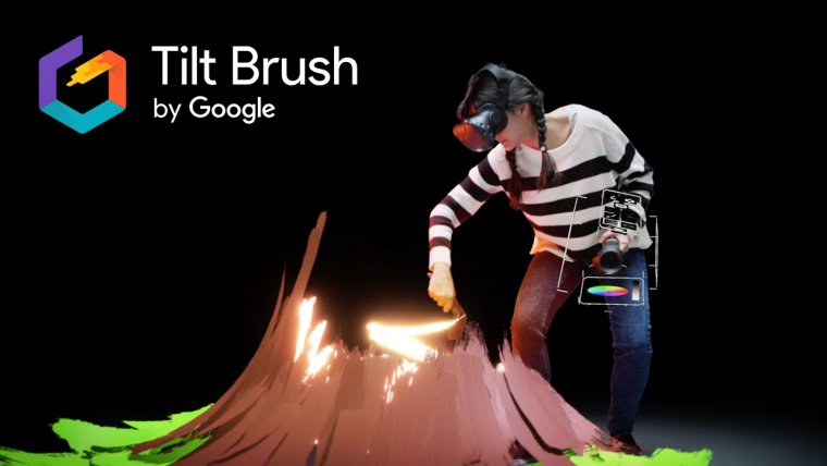 YouTube video - Tilt Brush van Google