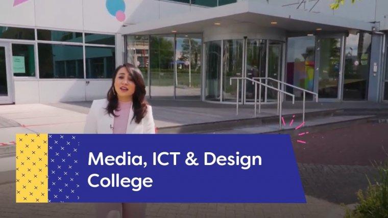 YouTube video - Rondleiding bij Media, ICT & Design College